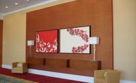 Hilton Orlando Installation View