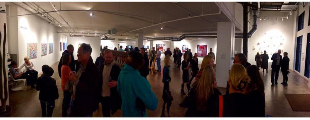 Opening reception Walker Fine Art Denver
