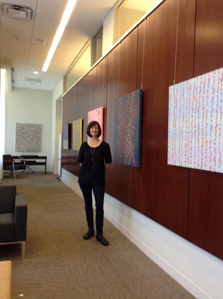 Farida Hughes and art Mill City Clinic
