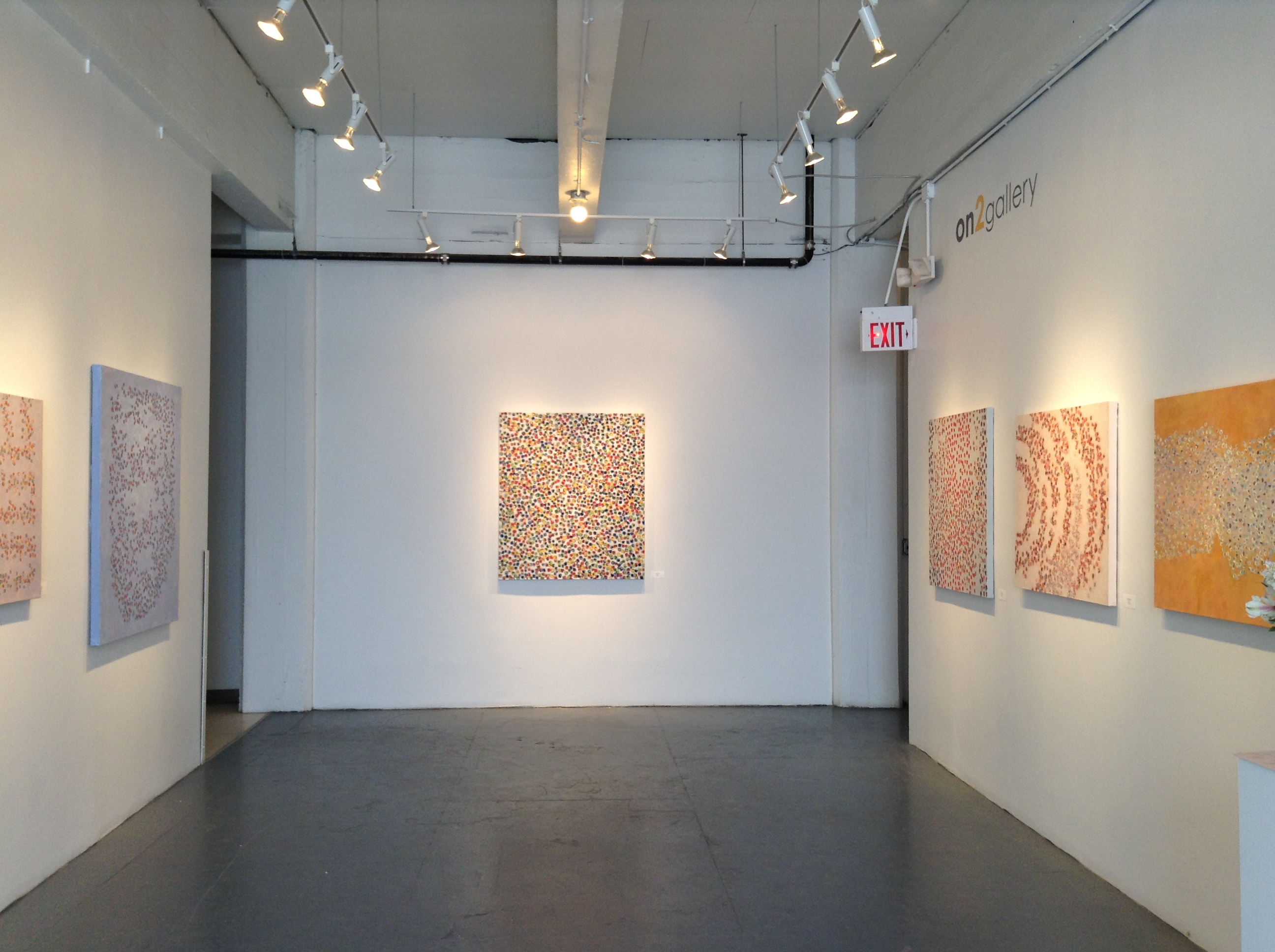 Installation view, on2gallery, California Building, ME Minneapolis