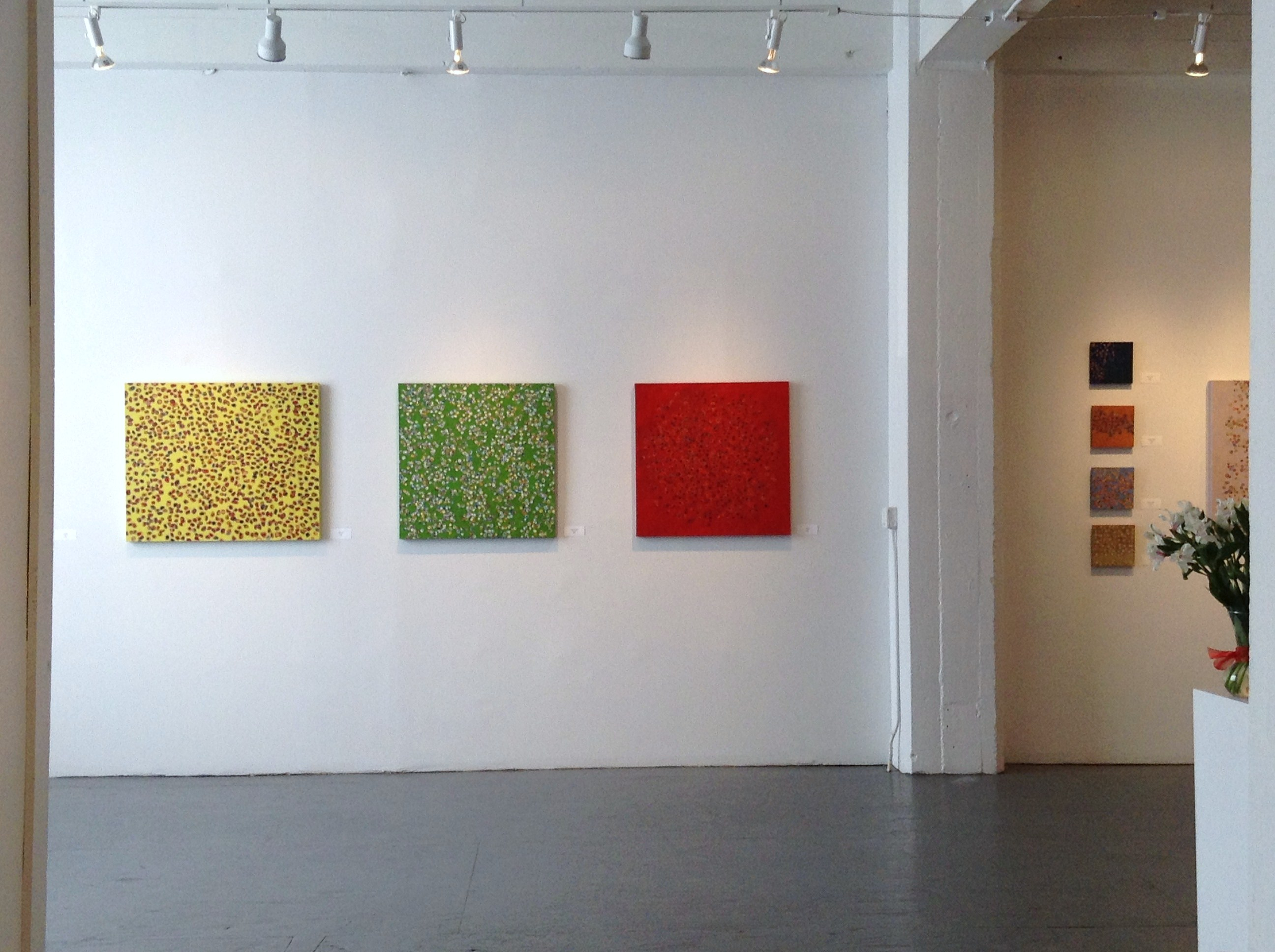 Installation view, on2gallery, California Building, NE Minneapolis