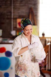 Farida Hughes in studio 0064 by Mary Gardella Photography